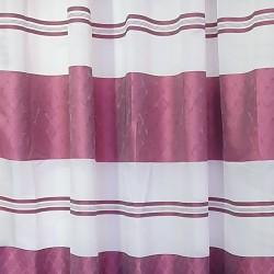 Перде BLOOM полуплътно лилави бели ивици 145/250