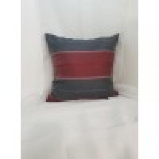 Възглавница декоративна 40х40 сиво и червено Възглавници