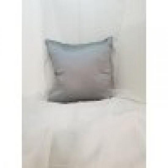 Възглавница декоративна 40х40 сива сатен Възглавници