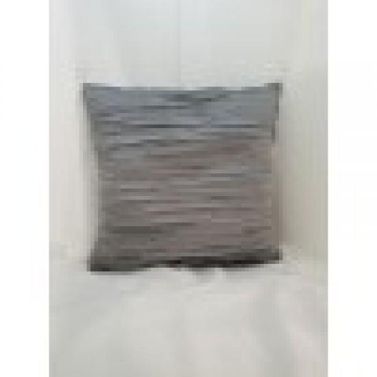 Възглавница декоративна 40х40 сива плисе Възглавници