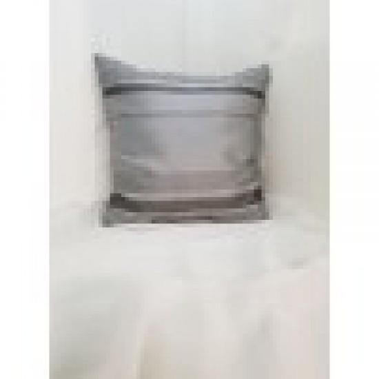 Възглавница декоративна 40х40 сива структура шенил Възглавници