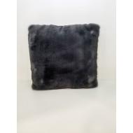 Декоративна възглавница SUEDE SUPER SOFT 45х45 см т. сива