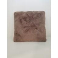 Декоративна възглавница SUEDE SUPER SOFT 45 х 45 см св. кафява
