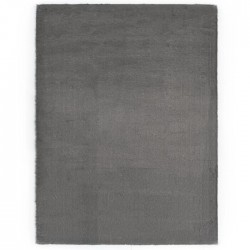 Килим Suede super-soft тъмно сив