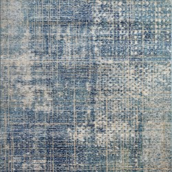 Килим Aura 38267 беж-синьо