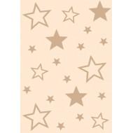 Килим Jazzy Stars 07725 беж-крем
