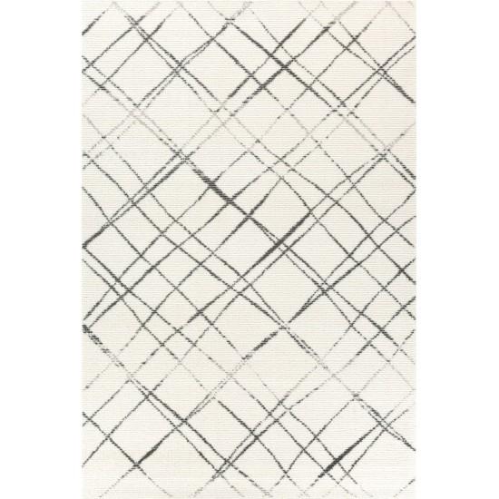 Kилим Perla 22-37-100 вълна, модерен стил Килими